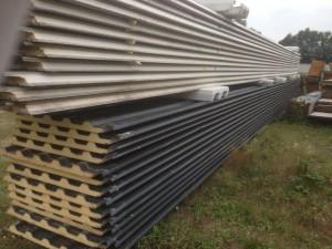 Metalen dakplaten zwarte coating
